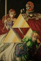 The power of the Triforce by LillaAnnan