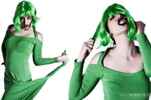 crazy in green by Lily-V