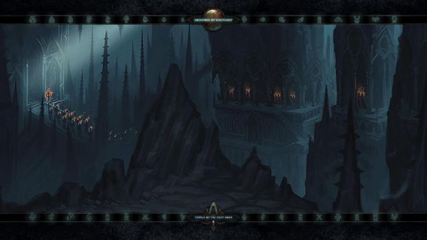 Locations II: #35 Temple of the First Born by Holyknight3000