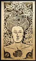 Gravure sur bois / Wood engraving by Adeline-Martin