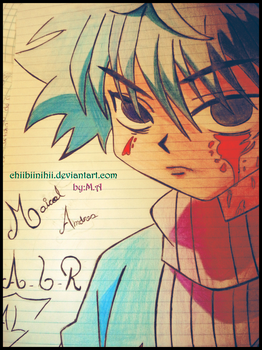 Killua-DRAWING by ChiibiinihII