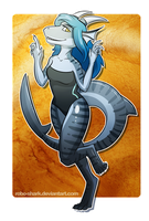 Commission: Shark Dragon by Robo-Shark
