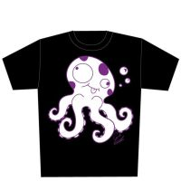 Octopus shirt by darkestneko
