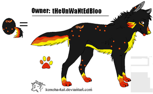 tHeUnWaNtEdBloo's Wolf From Egg #2 by MapleKennels