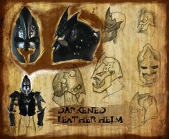 Leather Armor: Helm by NadrojWobrek