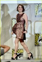 Maisie Williams Belly 6 by WHATEVEN12