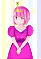 Young Princess Bubblegum by alistare