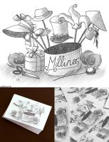Milliner Business Card by Caz-Lock