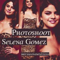 Photoshoot Selena Gomez. by BrichuJonasEditions