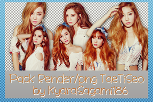 Pack PNG/Render TaeTiSeo (TTS) (SNSD) by Kyra by KyaraSagami186