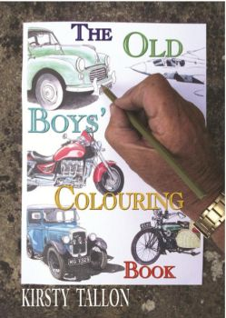 The Old Boys' Colouring Book front cover by Tripehound