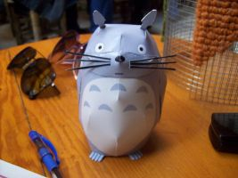 Totoro Papercraft by chinga