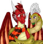 Commish- Coiled up with kisses by shaloneSK