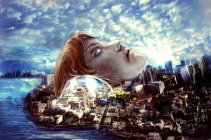 City in my head... by Amuuna