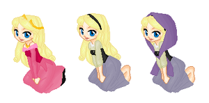 Aurora Outfits by SelenaEde