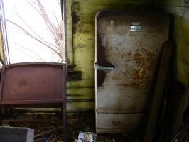 rusty refrigerator 2 by FairieGoodMother