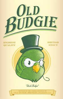 Old Budgie British Stout by ballsybalsman