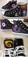 Ashley's Chucks by willdrawforfood