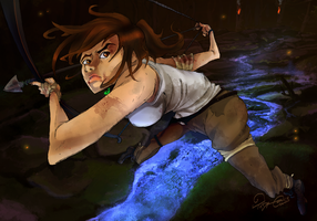 Tomb Raider Reborn by TaraGraphic
