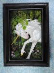 Unicorn Shadow Box by Ethereal-Beings