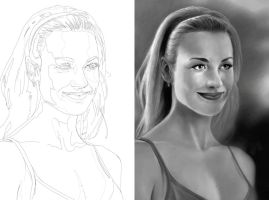 Sarah Walker - Side By Side by tabu-art