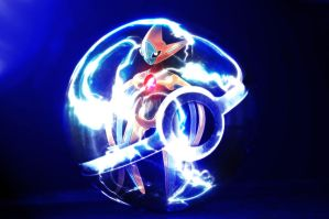 The Pokeball of Deoxys by wazzy88
