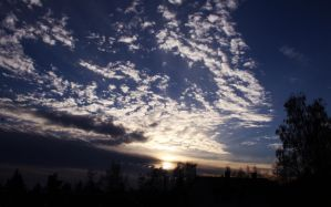sky at 16.16 by DrySin
