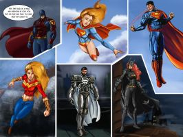 6 Heros by Amenoosa