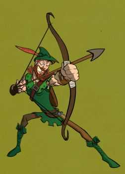 Good Ol' Robin Hood by veselin-panayotov