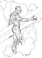 Silver Surfer by Mshindo9