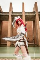 Hana Minamoto as Kitty Cat Katarina by Hana-Zone
