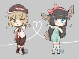 Valentines Adopts (Pending) by LunarAdopts