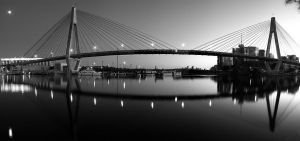 The Full Span - ANZAC Bridge by MarkLucey