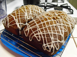 Pumpkin Tea Bread Loaves by wishmatrix