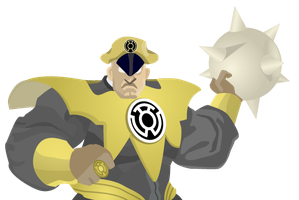 Sinestro Corpsman M. Bison by CodeAndReload