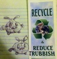 Recycle and Reduce Trubbish by TheDragonInTheCenter