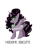 MLP - Madame Brigitte by SankofaRida