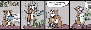 DIGIDOG By Wolfmarian - First Comic Strip by wolfmarian