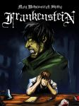 Frankenstein cover by R-Daza
