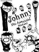 Johnny the Homicidal Maniac by LadyAquaria