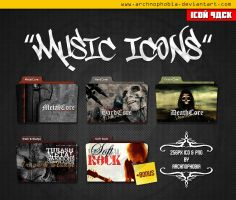 Music ICONS PACK by archnophobia