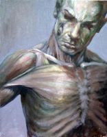Anatomy Self Portrait by angotti81