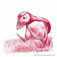 Puffin' Puffin by goRillA-iNK