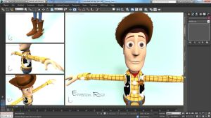 3D Woody by iemersonrosa