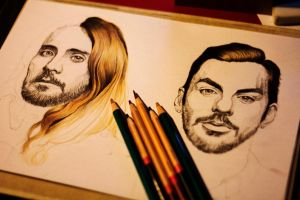 Jared and Shannon Leto 3rd process by Gutter1333