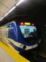 Canada Line to Vancouver Airport by BlueSkyWarhawk
