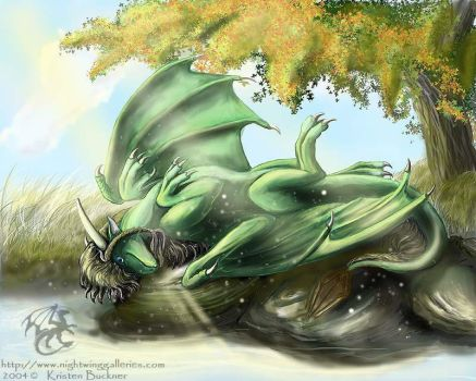 Jade Sedyana: Lazy autumn days by silvermoonnw