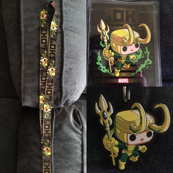 MY LOKI LANYARD, YAY!!!! by Queen-of-Ice101
