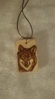 Wolf Totem Necklace Pendant by Tazimo