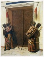 Gate guards by saudi6666